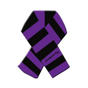 scarfc black purple
